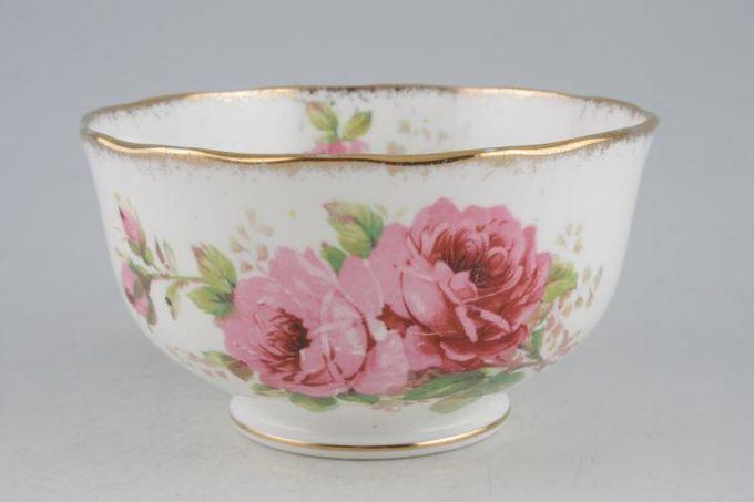 "Royal Albert American Beauty Sugar Bowl - Open (Tea) 4 5/8"""