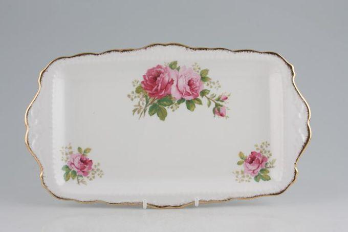 "Royal Albert American Beauty Sandwich Tray 11 1/4"""