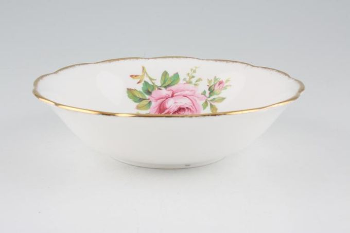 """Royal Albert American Beauty Oatmeal / Cereal / Soup larger floral pattern 6 1/4"""""""