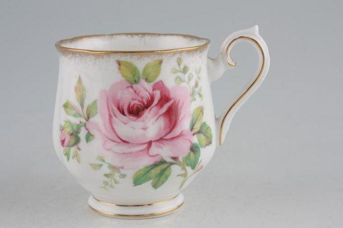 "Royal Albert American Beauty Coffee Cup 2 1/4 x 2 1/2"""