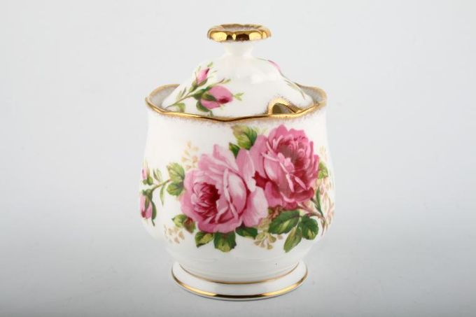 Royal Albert American Beauty Jam Pot + Lid