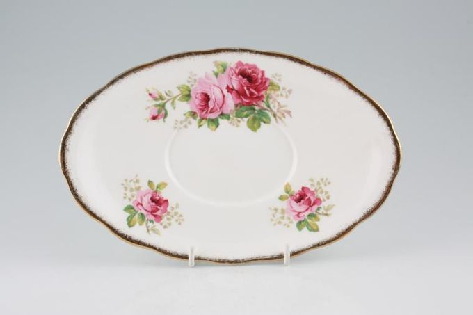 Royal Albert American Beauty Sauce Boat Stand 9 1/2""