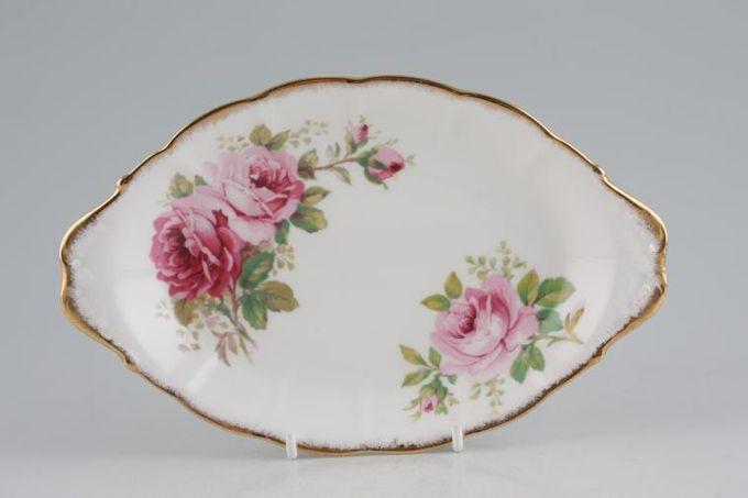 "Royal Albert American Beauty Dish (Giftware) Eared 8 1/4"""