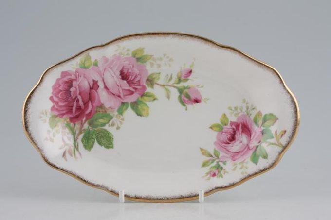 "Royal Albert American Beauty Dish (Giftware) 8"""