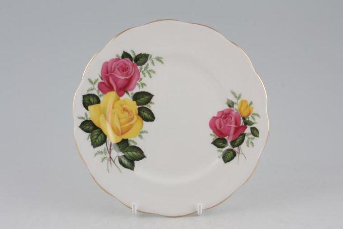 """Royal Albert June Delight Tea / Side Plate 6 1/4"""""""