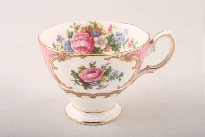 """Royal Albert Lady Carlyle Coffee Cup 3 1/8 x 2 3/8"""""""
