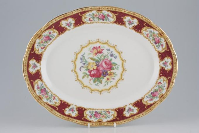 Royal Albert Lady Hamilton Oval Plate / Platter 13""