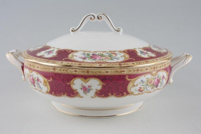 Royal Albert Lady Hamilton Vegetable Tureen with Lid