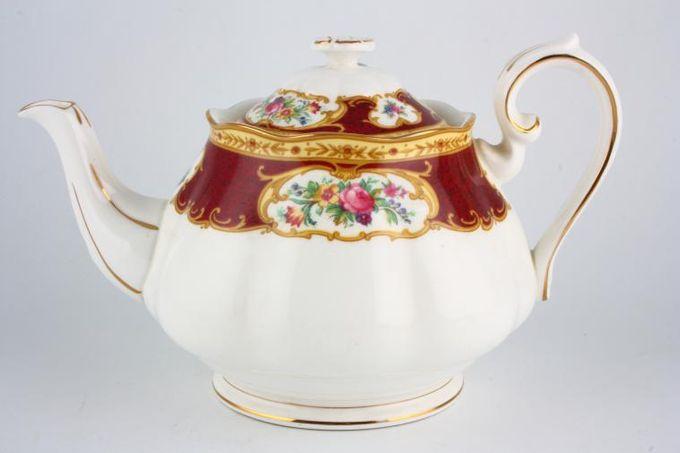 Royal Albert Lady Hamilton Teapot 3/4pt