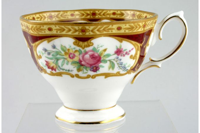 "Royal Albert Lady Hamilton Teacup Shaped Handle 3 1/2 x 2 3/4"""