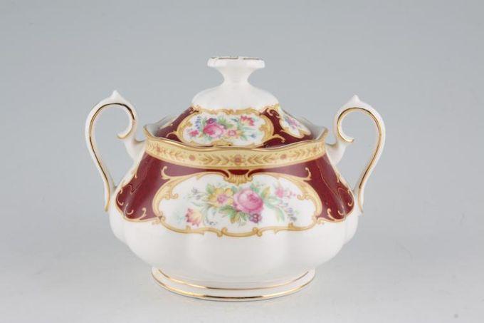 Royal Albert Lady Hamilton Sugar Bowl - Lidded (Tea) 2 handles