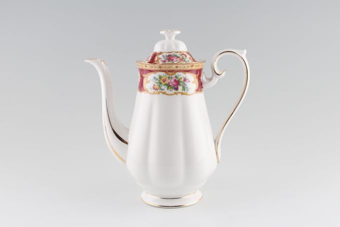 Royal Albert Lady Hamilton Coffee Pot 1 1/2pt