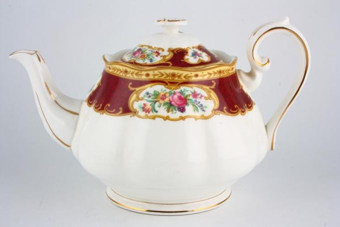 Royal Albert Lady Hamilton Teapot 2 1/2pt