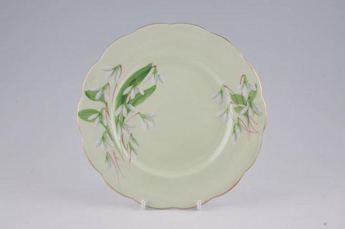 "Royal Albert Laurentian Snowdrop Tea / Side / Bread & Butter Plate 7 1/4"""