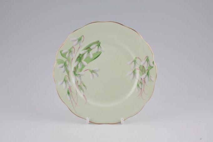 "Royal Albert Laurentian Snowdrop Tea / Side / Bread & Butter Plate 6 1/2"""