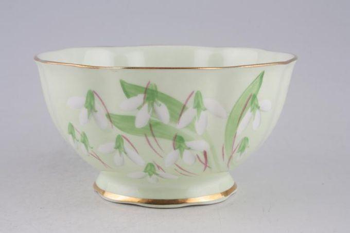"""Royal Albert Laurentian Snowdrop Sugar Bowl - Open (Tea) 4 5/8"""""""