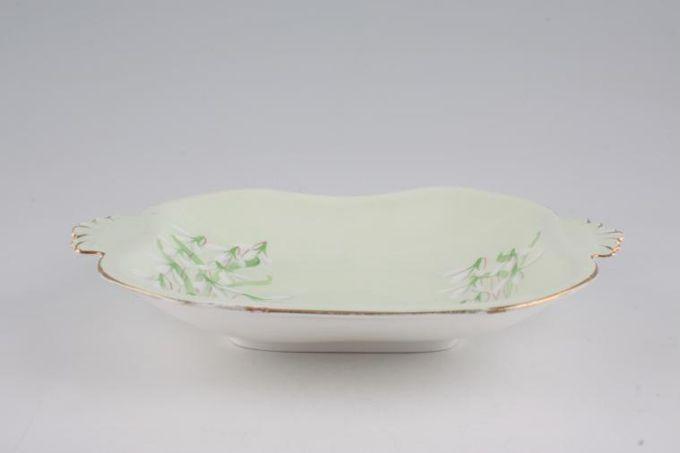 """Royal Albert Laurentian Snowdrop Serving Dish square, eared 8 3/8"""""""