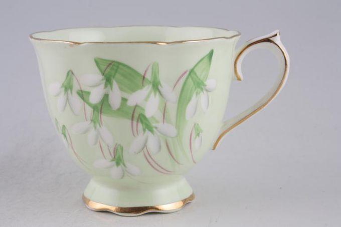 "Royal Albert Laurentian Snowdrop Teacup 3 3/8 x 2 3/4"""