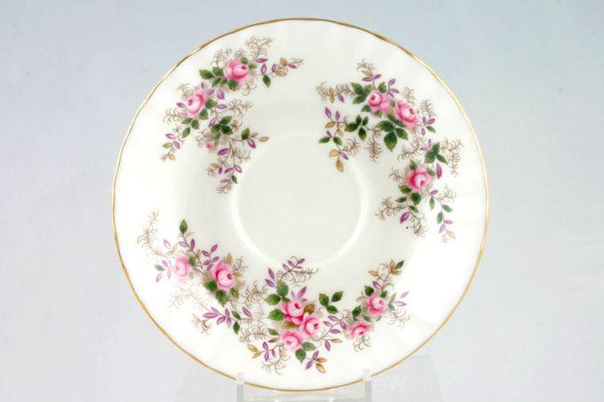 "Royal Albert Lavender Rose Soup Cup Saucer 6 3/8"""