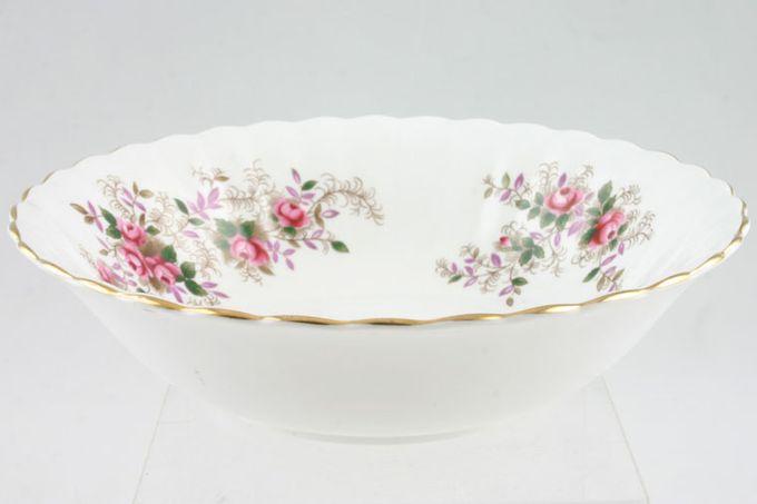 "Royal Albert Lavender Rose Soup / Cereal Bowl 6 1/4"""