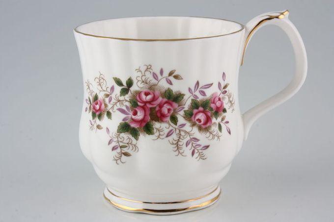 "Royal Albert Lavender Rose Mug Montrose shape 3 1/4 x 3 1/4"""