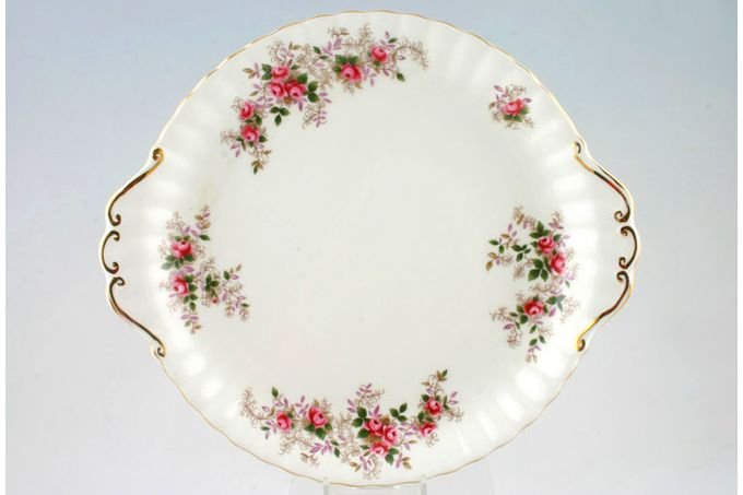 Royal Albert Lavender Rose Cake Plate Round - eared 10 1/4""