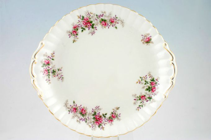 Royal Albert Lavender Rose Cake Plate Round - eared 10 1/2""