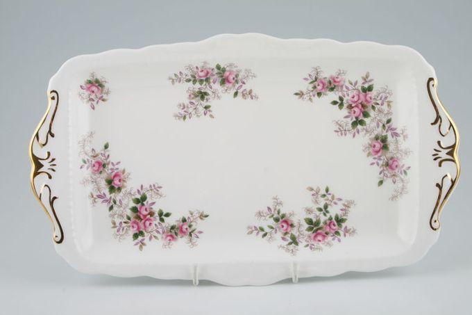 "Royal Albert Lavender Rose Sandwich Tray 11 3/4 x 6 7/8"""