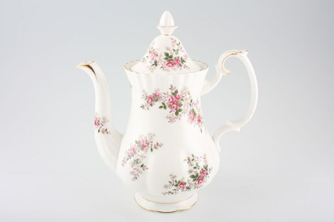 Royal Albert Lavender Rose Coffee Pot 2 1/2pt