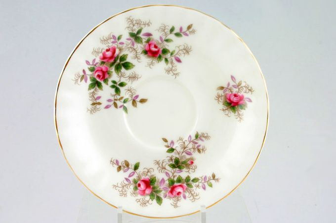 "Royal Albert Lavender Rose Coffee Saucer 4 7/8"""