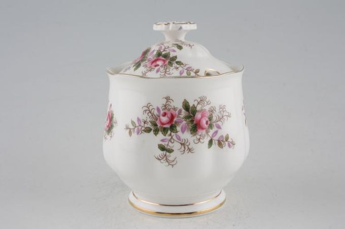 Royal Albert Lavender Rose Jam Pot + Lid