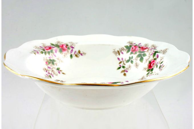 "Royal Albert Lavender Rose Rimmed Bowl 6 1/4"""