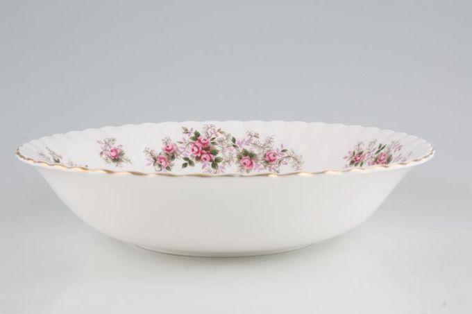 "Royal Albert Lavender Rose Serving Bowl 9 1/2"""