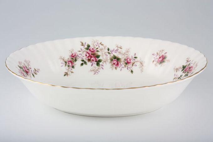 "Royal Albert Lavender Rose Vegetable Dish (Open) 9"""