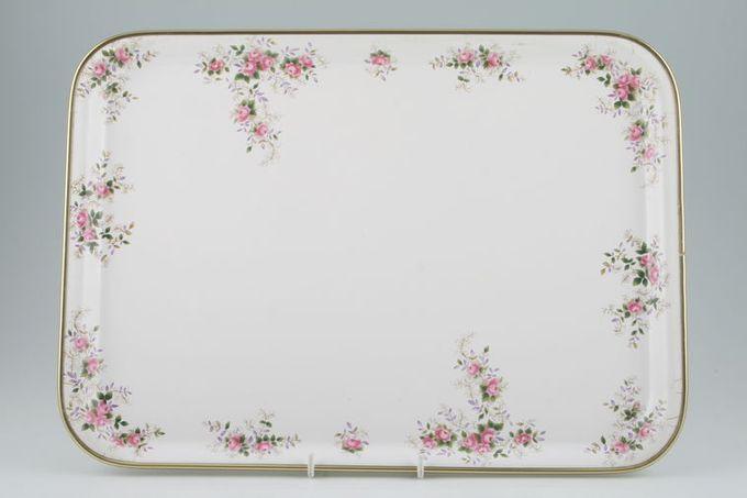 "Royal Albert Lavender Rose Serving Tray Melamine 15 1/2 x 11 1/4"""