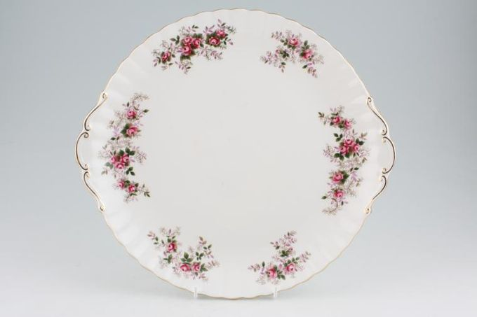 Royal Albert Lavender Rose Gateau Plate Eared 12 1/4""