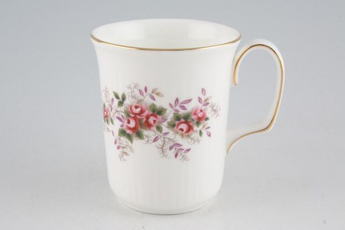 Royal Albert Lavender Rose Mug Ribbed base 3 1/4 x 4""