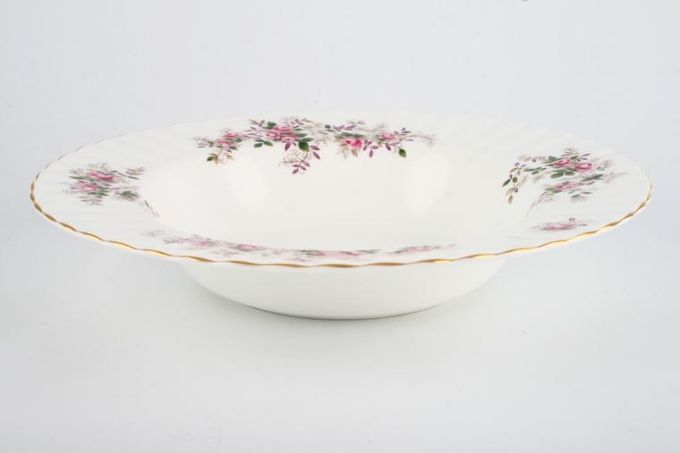 Royal Albert Lavender Rose Rimmed Bowl 9 1/4""