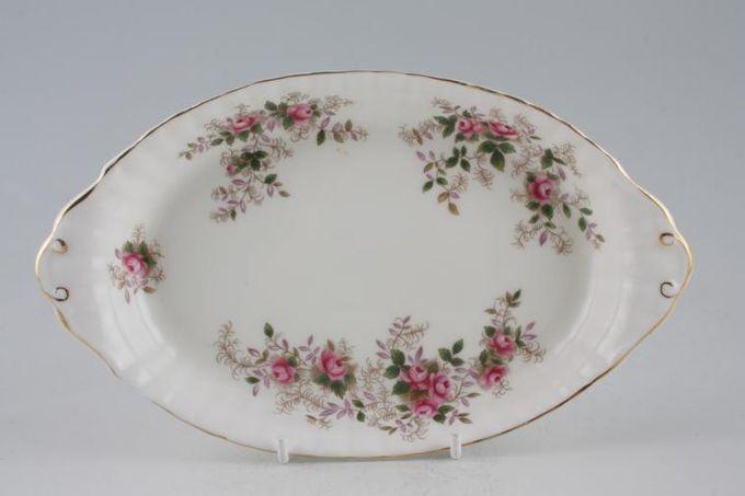 "Royal Albert Lavender Rose Pickle Dish Tray 8 3/4"""