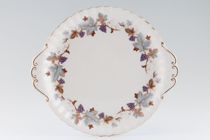 Royal Albert Lorraine Cake Plate round, eared