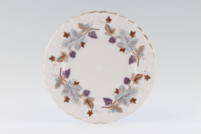 """Royal Albert Lorraine Cake Plate Plate for tiered cake stand 6 1/4"""""""