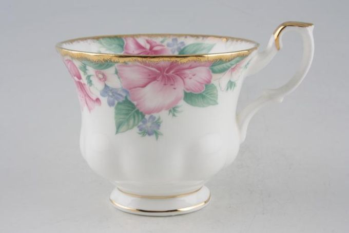 "Royal Albert Lydia Teacup 3 1/2 x 2 3/4"""