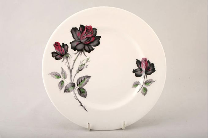 "Royal Albert Masquerade Starter / Salad / Dessert Plate floral 8 1/4"""