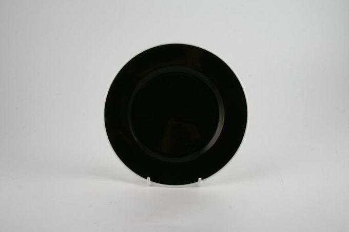 "Royal Albert Masquerade Tea / Side / Bread & Butter Plate black 6 1/4"""