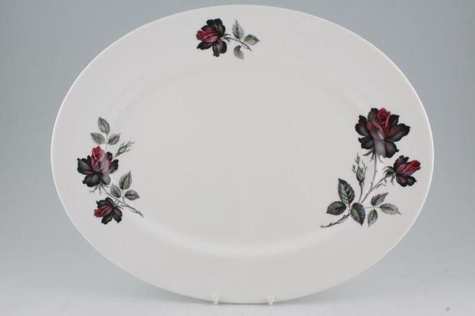 "Royal Albert Masquerade Oval Plate / Platter 15"""