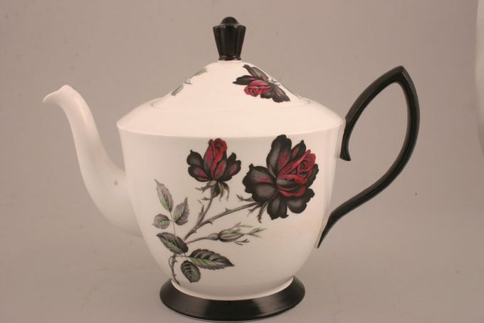 Royal Albert Masquerade Teapot Black Handle 2pt