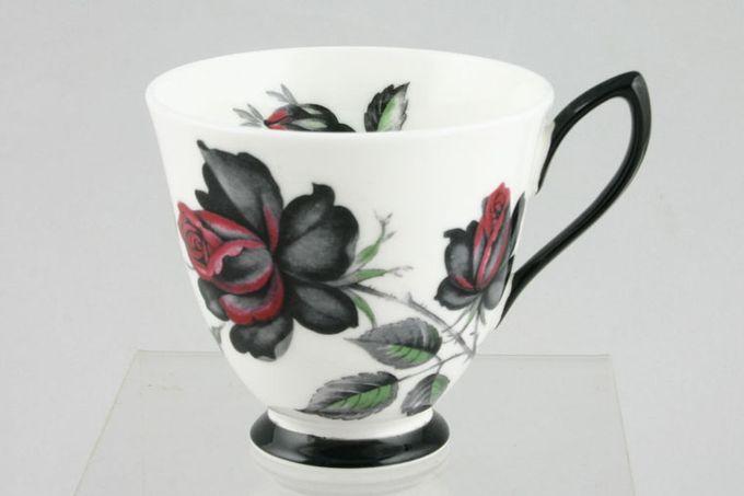 """Royal Albert Masquerade Coffee Cup Black Handle 3 x 2 3/4"""""""