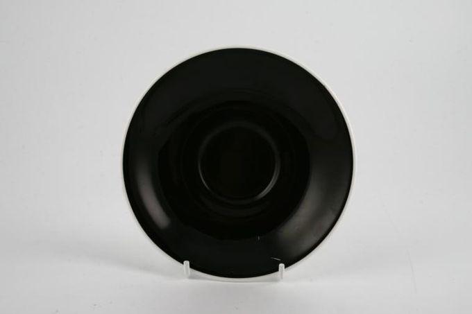 "Royal Albert Masquerade Coffee Saucer Black 5"""