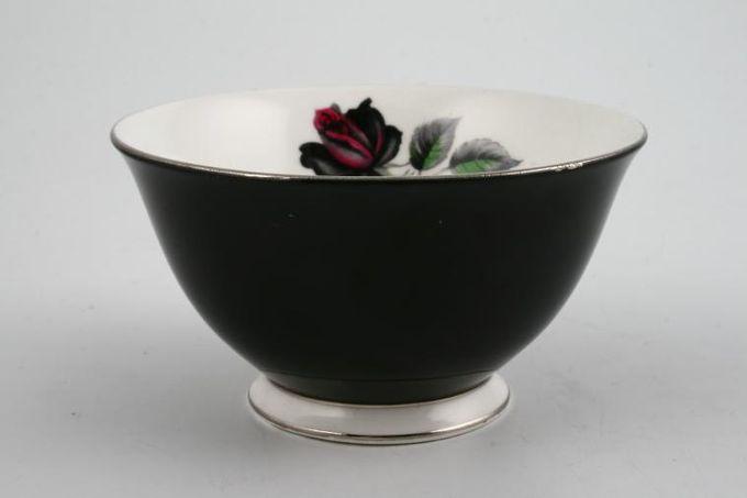 """Royal Albert Masquerade Sugar Bowl - Open (Tea) black  4 7/8"""""""