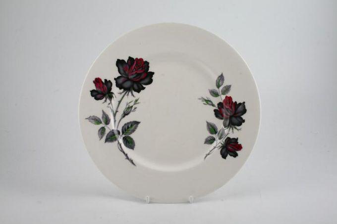 "Royal Albert Masquerade Breakfast / Salad / Luncheon Plate no silver rim - floral 9 1/4"""